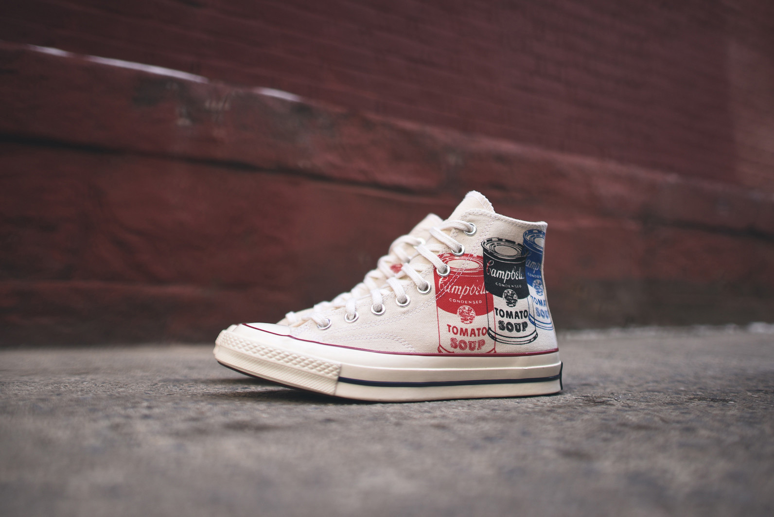Converse, tenisky, Andy Warhol