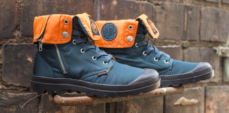 Palladium Boots & Alpha Industries